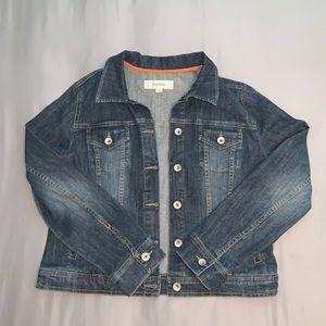 Merona blue jean jacket
